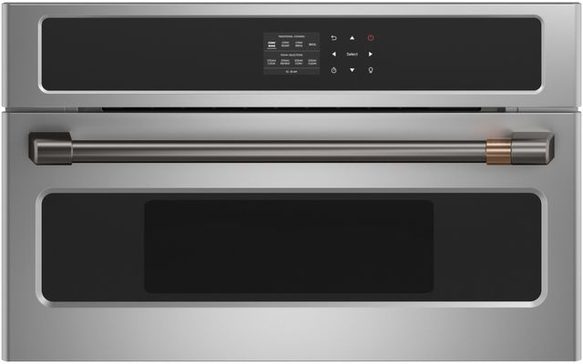 """Café™ 30"""" Stainless Steel Steam Oven-CMB903P2NS1"""