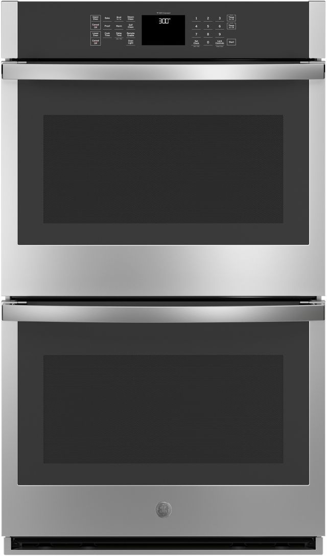 """GE® 30"""" Stainless Steel Electric Double Oven Built In-JTD3000SNSS"""