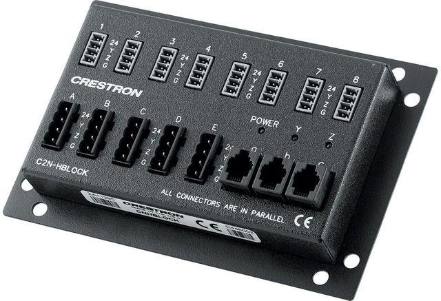 Crestron® Multi-type Cresnet Distribution Block-C2N-HBLOCK