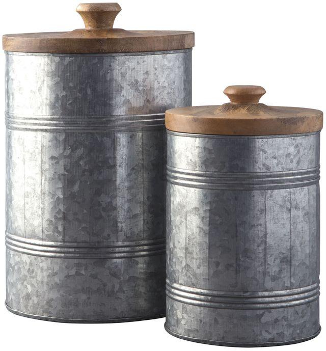 Signature Design by Ashley® Divakar Antique Gray Jar Set-A2000174