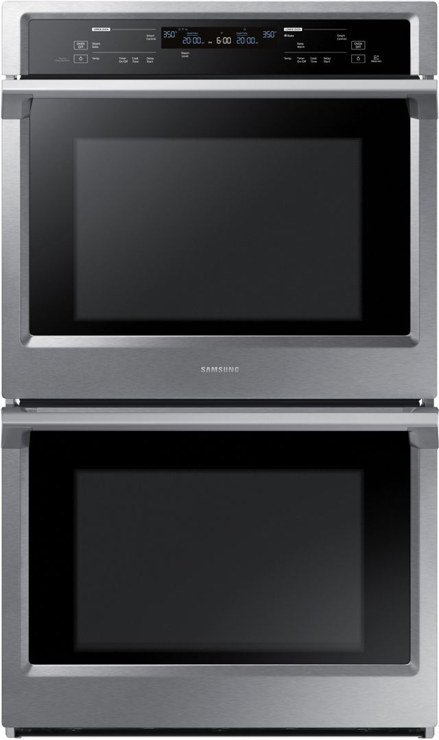 """Samsung 30"""" Electric Built In Double Wall Oven-Stainless Steel-NV51K6650DS"""