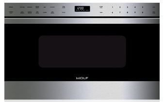 Wolf® Built In Microwave-Stainless Steel-MD24TE/S
