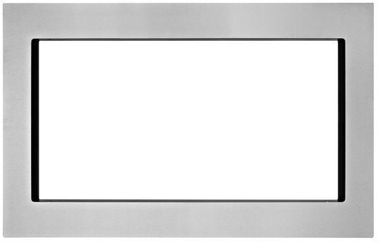 "KitchenAid 30"" Microwave Trim Kit-Stainless Steel-MK2220AS"