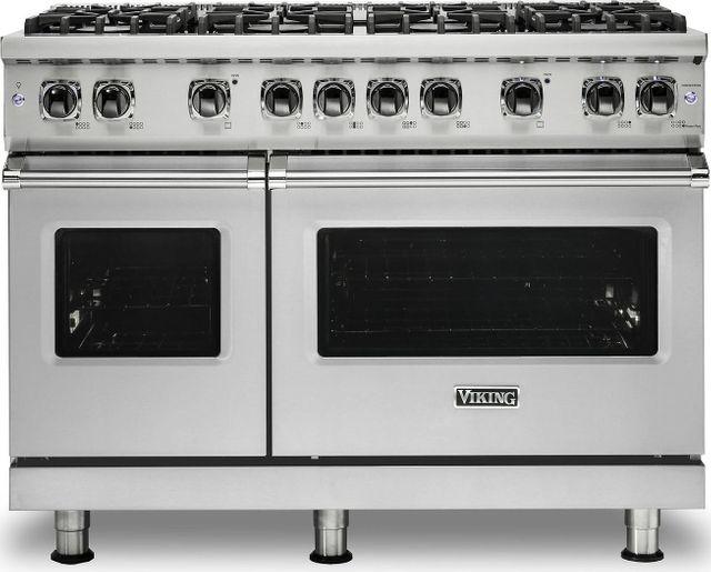 "Viking® Professional 5 Series 48"" Pro Style Dual Fuel Range-Stainless Steel-VDR5488BSSLP"