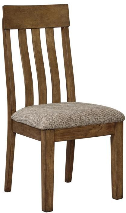 Benchcraft® Flaybern Light Brown Dining Upholstered Side Chair-D595-01