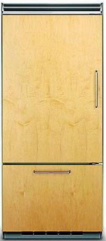 Viking® Professional 5 Series 20.4 Cu. Ft. Panel Ready Built-In Bottom Freezer Refrigerator-FDBB5363EL