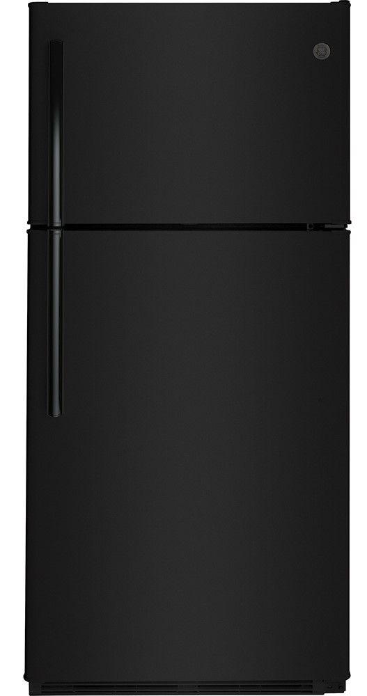 Réfrigérateur à congélateur supérieur de 30 po GE® de 18,0 pi³ - Blanc-GTS18FTLKBB