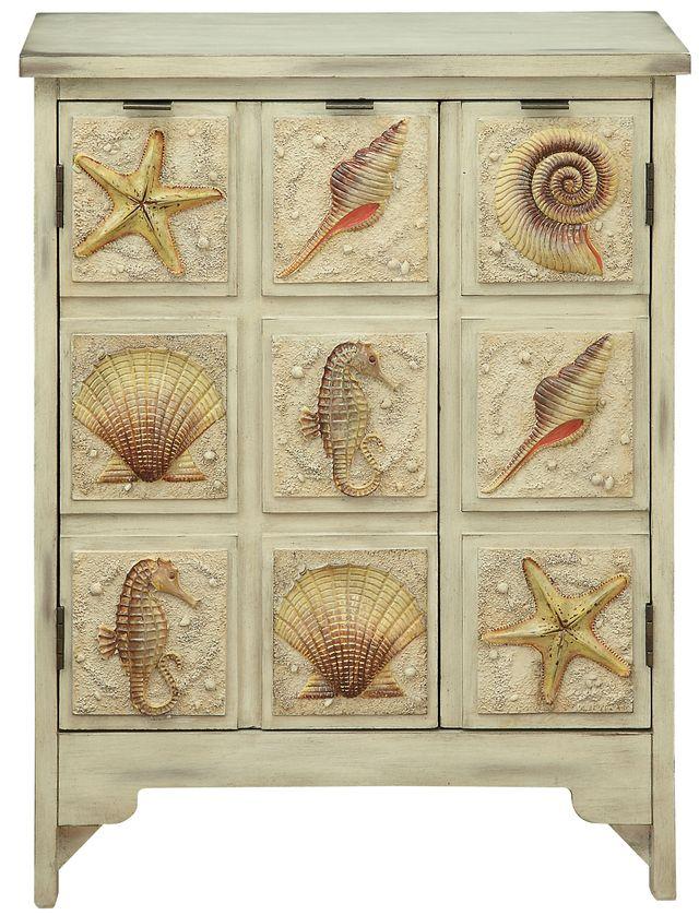 Coast to Coast Imports™ Piece in Paradise Cabinet-91822