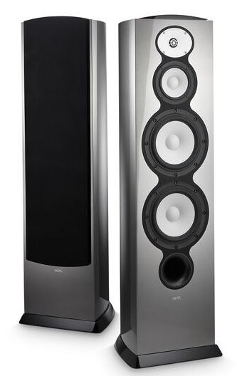"Revel® F228Be Silver 3-Way Dual 8"" Floor Standing Loudspeaker-REVF228BESIL"