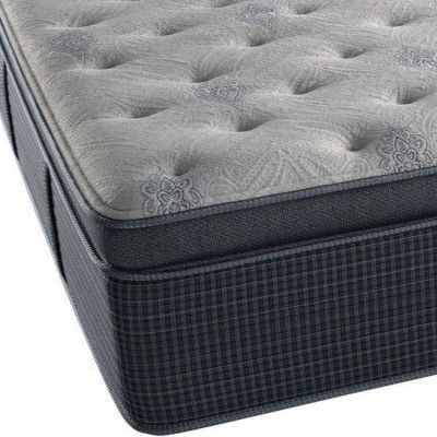Beautyrest® Silver® Night Sky Plush Hybrid Pillow Top California King Mattress-700752910-1070