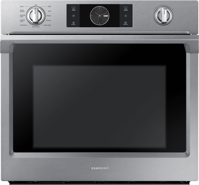 """Samsung 30"""" Electric Built In Single Wall Oven-Stainless Steel-NV51K7770SS"""