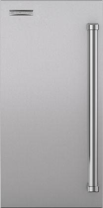 "Sub-Zero® 15"" Stainless Steel Ice Maker Door Panel with Pro Handle-7030431"