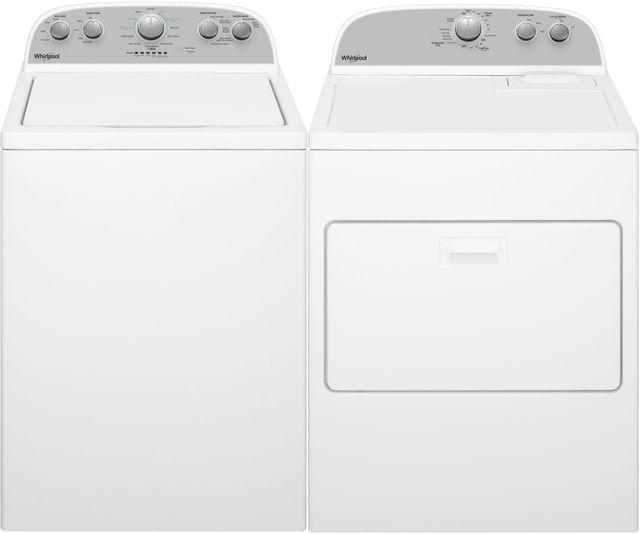 Whirlpool® White Laundry Pair-WHLAUWED4950HW2