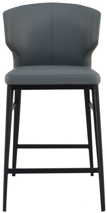 Moe's Home Collections Delaney Gray Counter Stool-EJ-1022-15