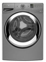 Whirlpool® Duet® Steam Front Load Washer-Chrome Shadow-WFW87HEDC