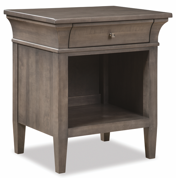 Durham Furniture Prominence Oyster Open Nightstand-171-201