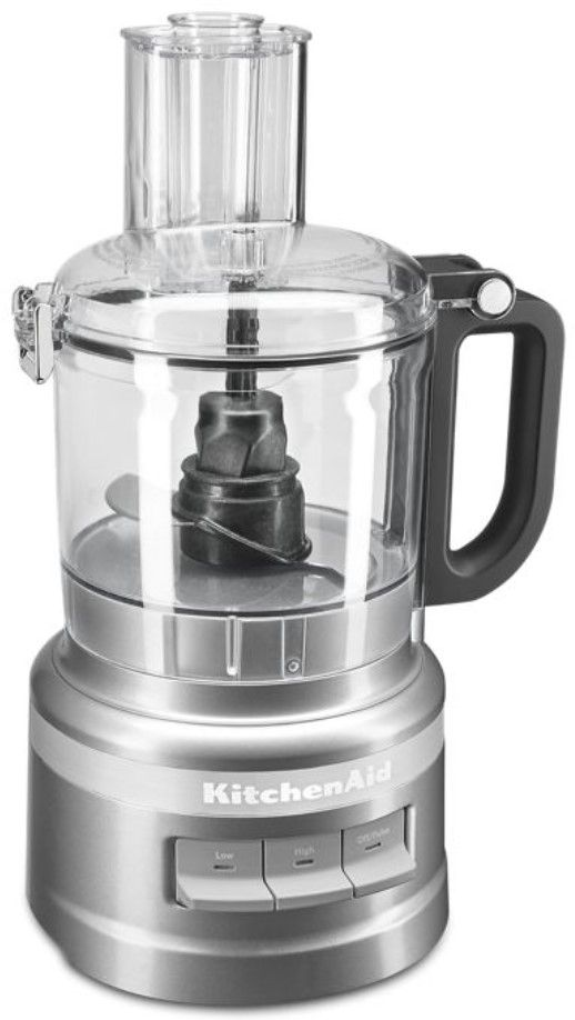 KitchenAid® 7 Cup Contour Silver Food Processor-KFP0718CU