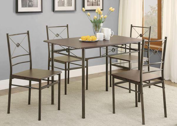 Coaster® 5 Piece Dining Group-100033