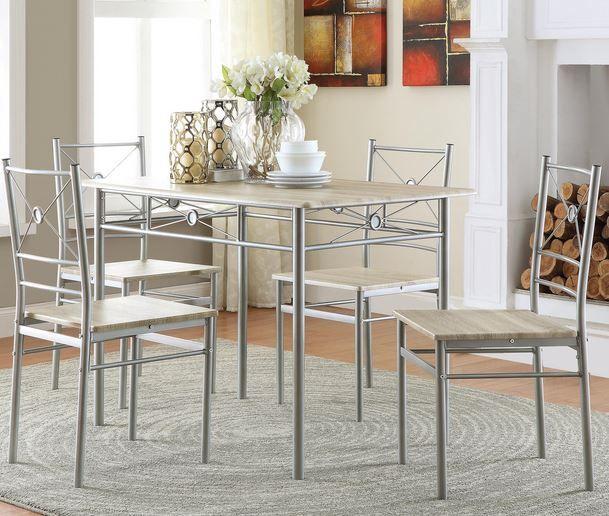 Coaster® 5 Piece Dining Group-100035