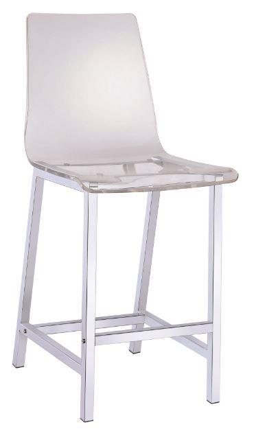 Coaster® Acrylic Counter Height Stool-100265