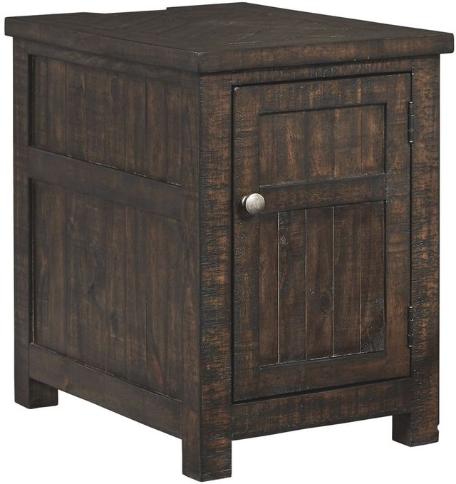 Signature Design by Ashley® Hillcott Rustic Brown Chair Side End Table-T798-7