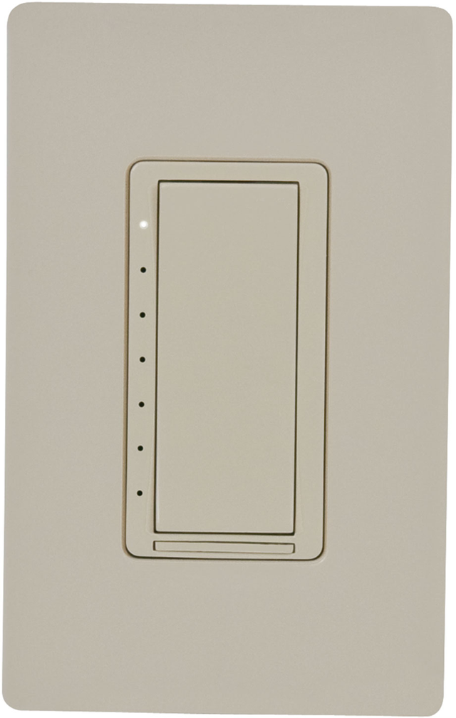 Crestron® Cameo® Ivory Smooth 120 VAC In-Wall Phase Dimmer-CLW-DIMUEX-P-IVR-S
