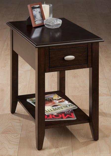 Jofran Inc. Merlot Chairside Table-1030-7