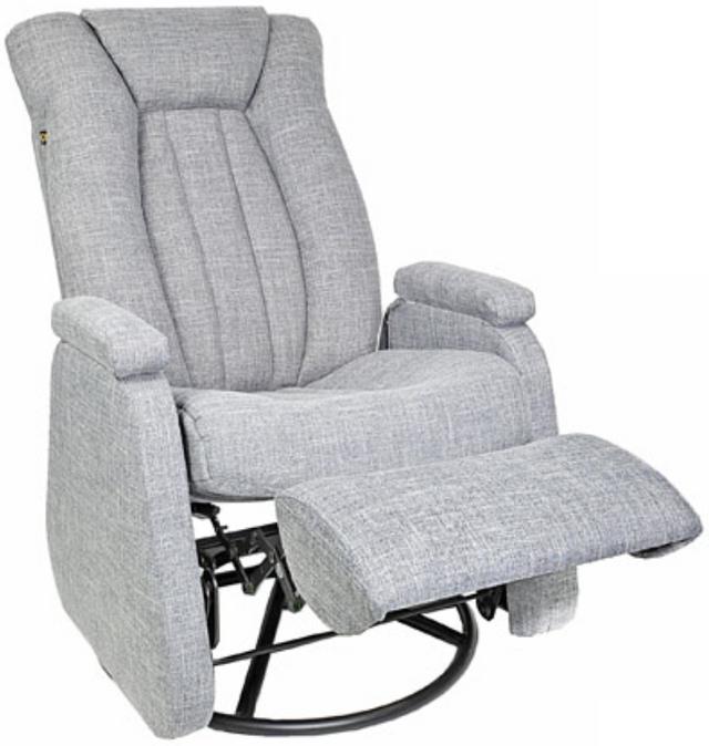 Fauteuil inclinable motorisé motorisé NEO en tissu gris PEL International®-315656