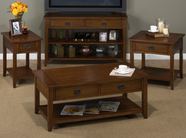 Jofran Inc. Mission Oak Occasional Table Group-1032 Occasional Table Group 1