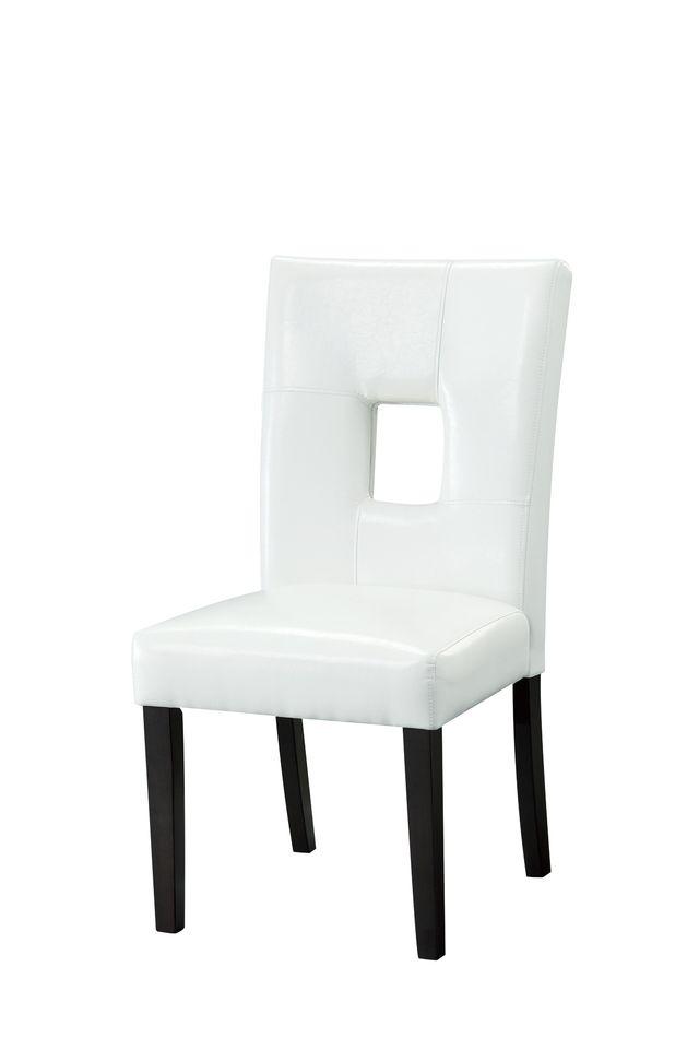 Coaster® Anisa White Side Chair-103612WHT