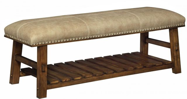 Coast to Coast Imports™ Light Brown Accent Bench-56312