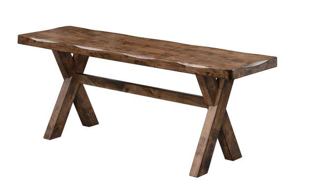 Coaster® Alston Knotty Nutmeg Bench-106383