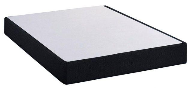 Restonic® Black Twin Standard Profile Foundation-BlackFoundation-T
