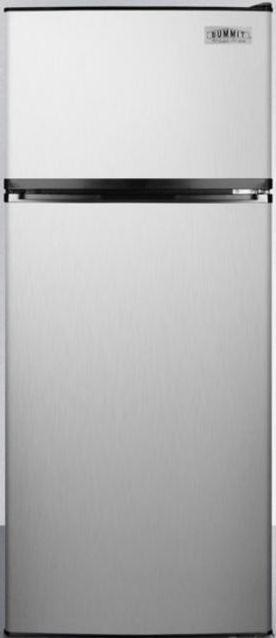 Summit® 10.3 Cu. Ft. Top Freezer Refrigerator-Stainless Steel-FF1159SSIM