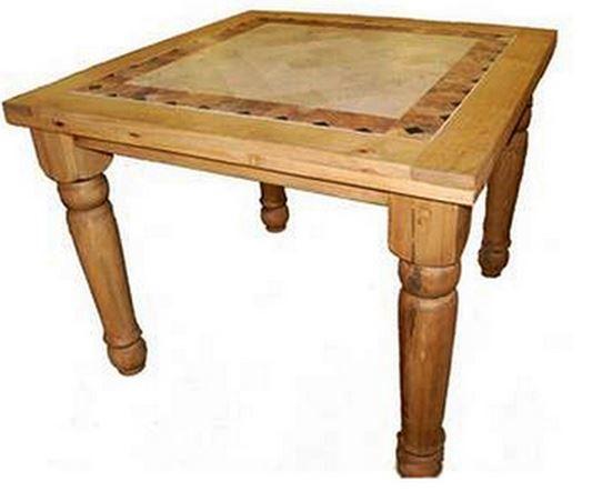 Million Dollar Rustic Square Pub Table-11-1-10-4-42