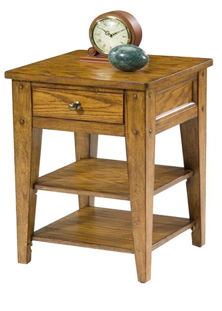 Liberty Lake House Chair Side Table-110-OT1021