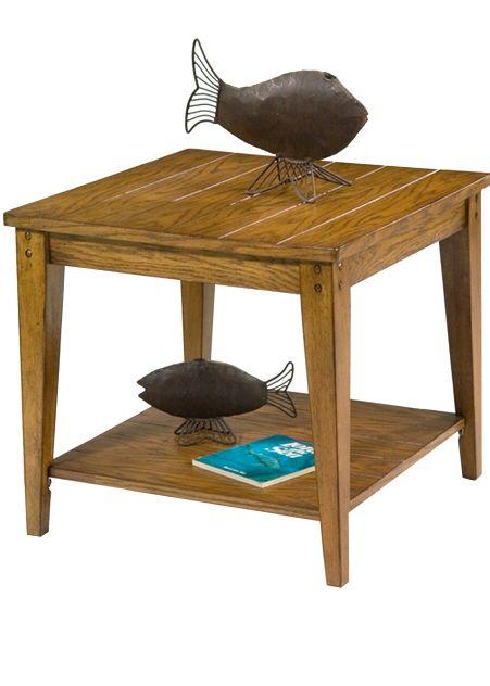 Liberty Lake House Square Lamp Table-110-OT1023