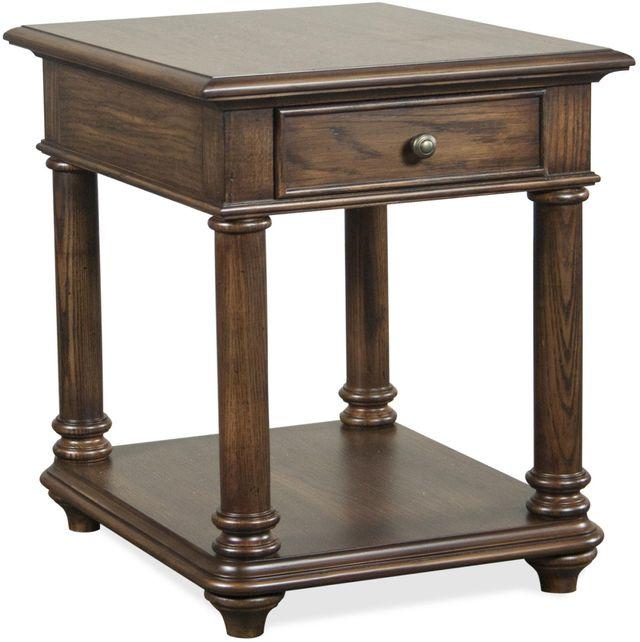 Riverside Furniture Tegan Rectangular Side Table-40609