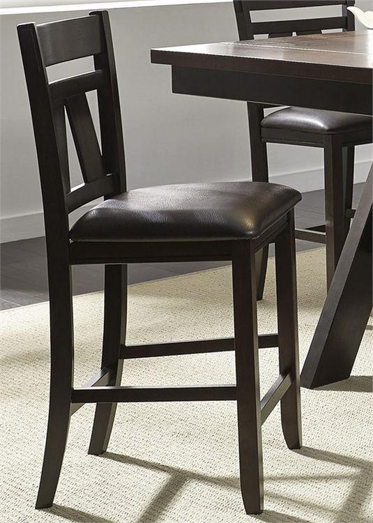 Liberty Furniture Lawson Espresso Dining Counter Chair-116-B250124