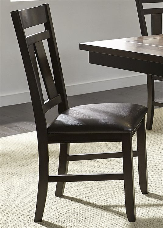 Liberty Furniture Lawson Espresso Dining Side Chair-116-C2501S