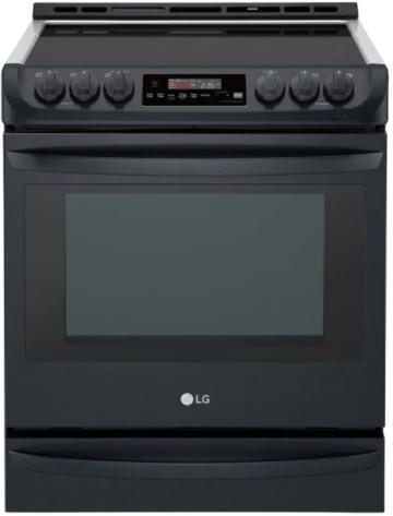 Cuisinière électrique encastrée LG® de 6,3 pi³ de 30 po - Acier inoxydable noir mat-LSE5613BM