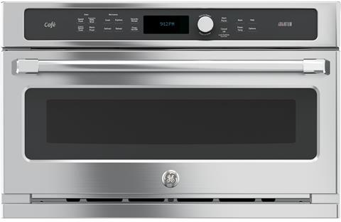 """Café™ 30"""" Electric Built In Single Wall Oven-Stainless Steel-CSB9120SJ"""
