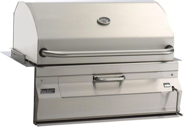 Fire Magic® Charcoal Collection 12 Series Built In Grill-Stainless Steel-12-S101C-A