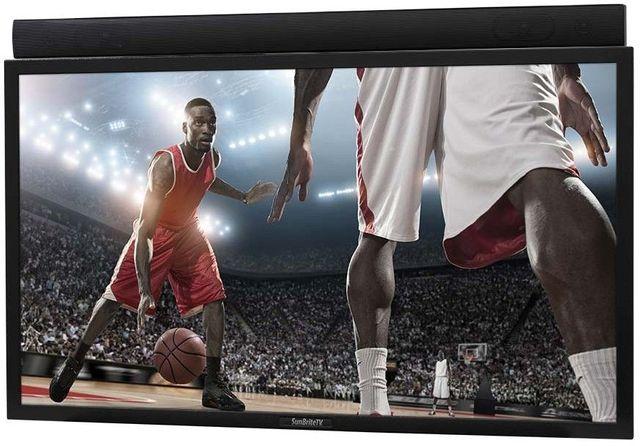"SunBrite® Pro Series Black 49"" LED Direct Sun Outdoor HDTV-SB-4917HD-BL"