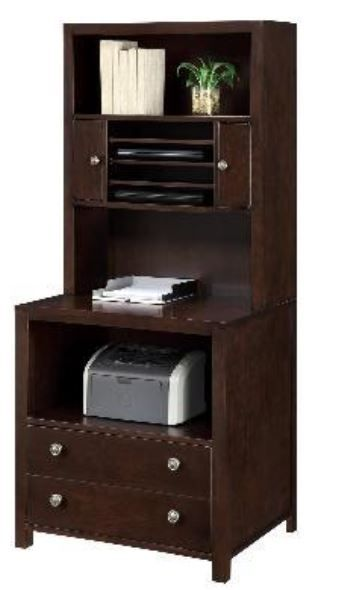 Wynwood Burton Tall Laptop Storage Hutch-1212-46