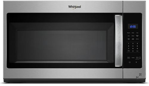 Whirlpool® 1.7 Cu. Ft. Heritage Stainless Steel Over The Range Microwave-YWMH31017HS