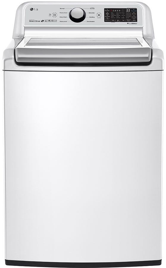 LG 5.0 Cu. Ft. White Top Load Washer-WT7300CW