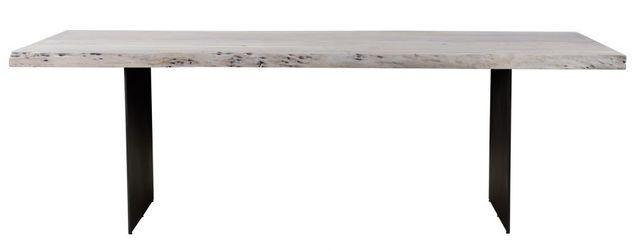 Table à manger rectangulaire Evans, blanc, Moe's Home Collections®-VE-1085-18