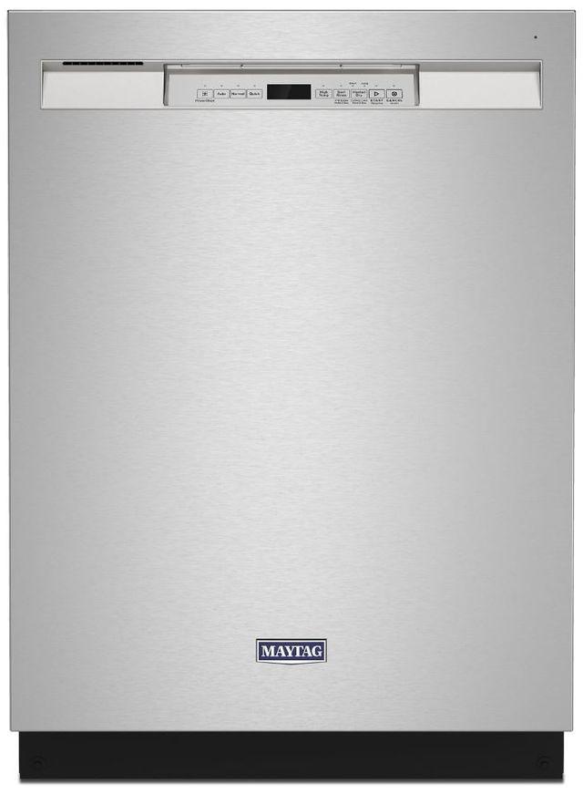 Lave-vaisselle encastré Maytag® de 24 po - Acier inoxydable résistant aux traces de doigts-MDB4949SKZ