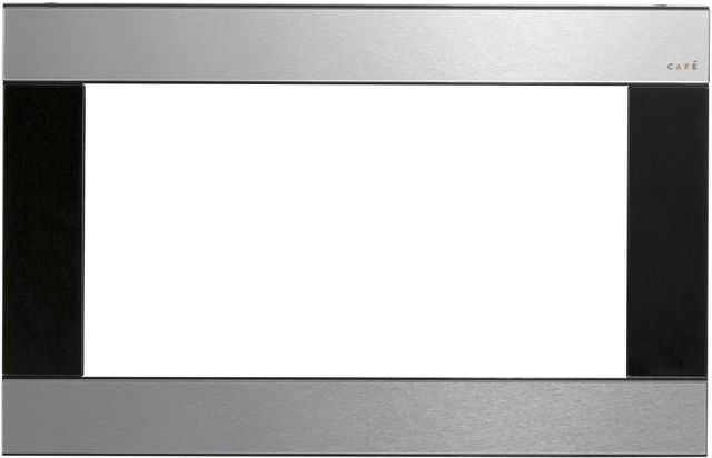 """Café™ 29.75"""" Stainless Steel Built In Microwave Trim-CX153M2NS5"""